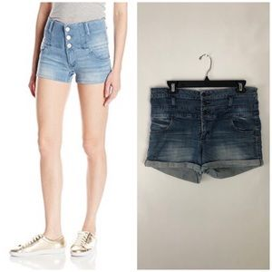 • mossimo high rise shorts•
